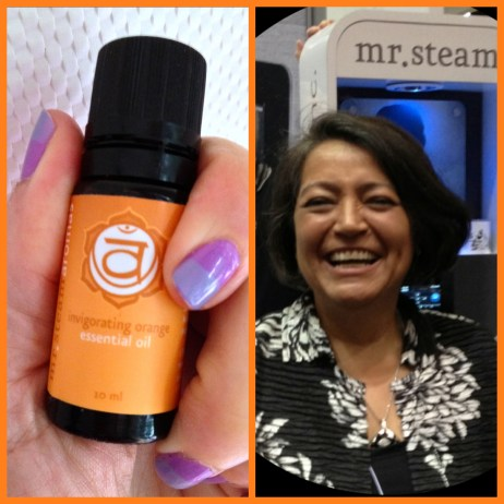 Mrs. Steam and 2nd Chakra Oil