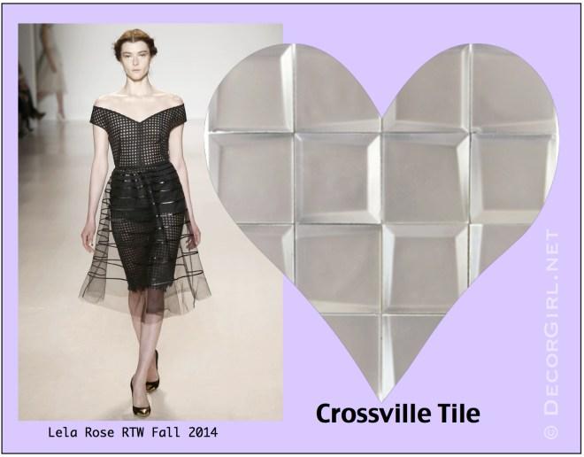 Lela Rose and Crossville Tile