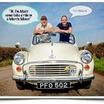 Filmmaker Falls For Cheeky British Morris Minor (Car)