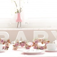 DIY Babyshower Party Dekoration