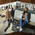 創刊号はパリ特集。ファッション雑誌「CLUEL・クルーエル」