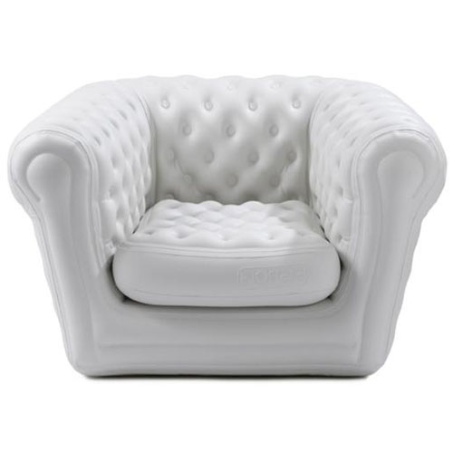 Fauteuil blofield le chesterfield gonflable deco tendency - Canape gonflable chesterfield ...