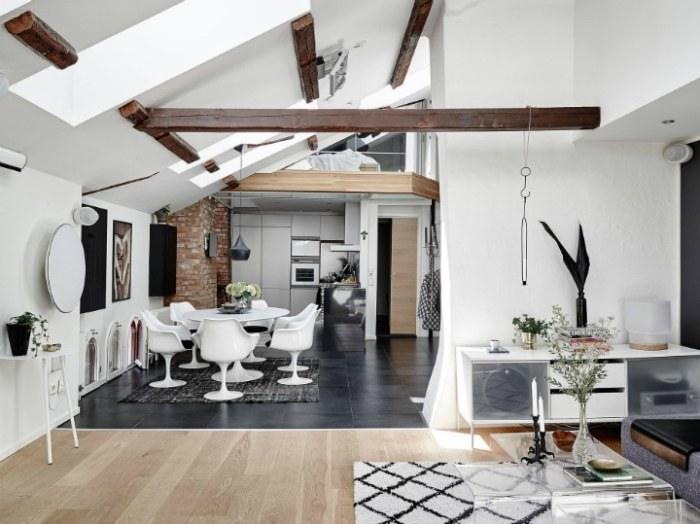 Am Nager Un Appartement Mansard En Duplex Deco Tendency