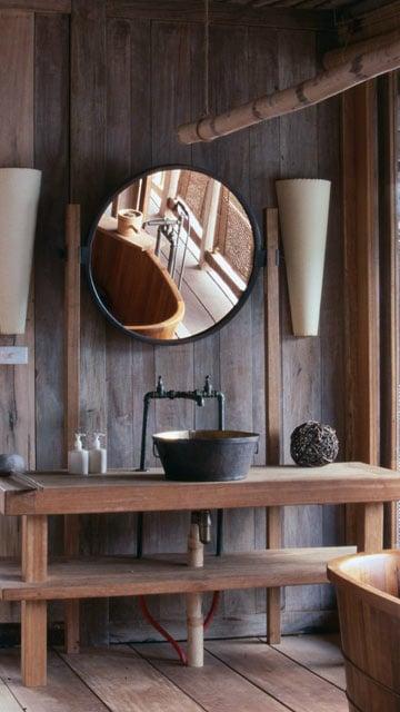 20 salles de bains design au charme vintage et industriel. Black Bedroom Furniture Sets. Home Design Ideas