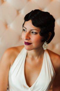1920s Art Deco Bride