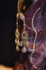 1920s Boho Bridal Earrings