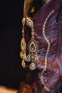 1920s Boho Bridal Earrings