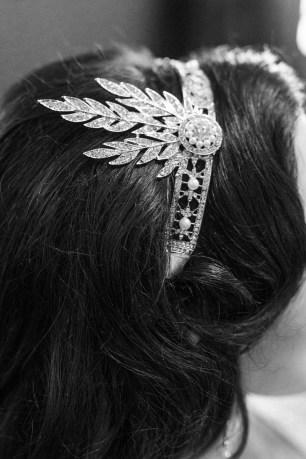 1920s Bridal Hair Comb