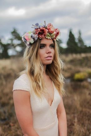 Moonlight || 1920s Boho Flower Crown