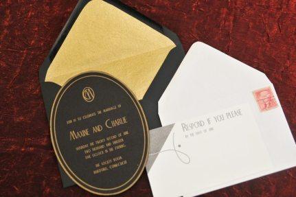 1920s Invitation