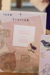 1920s Style Letterpress Wedding