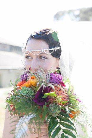 1920s Style Wedding Bouquet