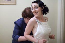 1920s Style Wedding Dress