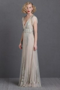 1920s Wedding Dress Aiguille BHLDN
