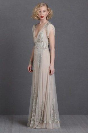1920s Wedding Dress Aiguille BHLDN