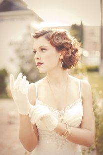 1920s Wedding Hair
