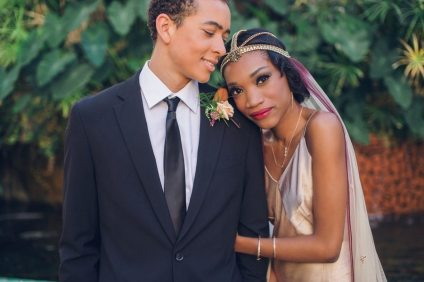 1920s Wedding Style Los Angeles