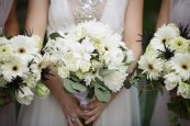 1920s White Wedding Bouquet