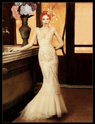 Art Deco Dress Yolan Cris - Almería