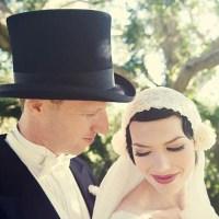 Vintage Style Wedding || Ebony + Andrew