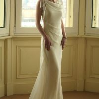1930s Style Silk Wedding Dress || Natalia Misslin