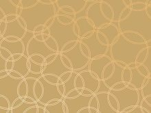 Art Deco Gold Circle Pattern