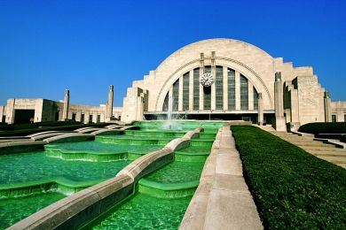 Art Deco Fountain || Union Terminal