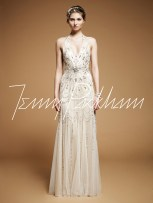 Art Nouveau Wedding Gown || Jenny Packham Luna