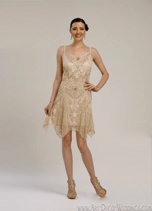 Flapper Cocktail Dress || Sue Wong