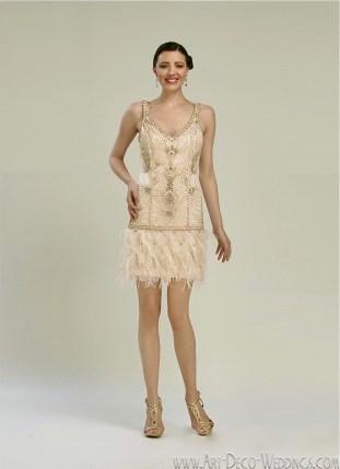 Sue Wong Flapper Dress N2121