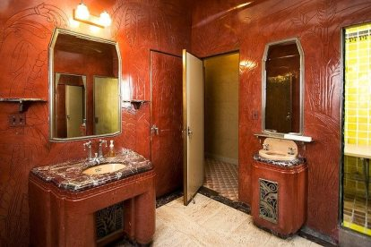 Art Deco Bathroom Oviatt Penthouse