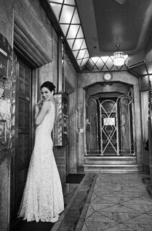 Vintage Venue || Oviatt Building || Art Deco Bride