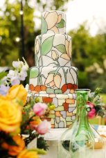 Nouveau Wedding Cake || Art Nouveau Wedding Inspiration