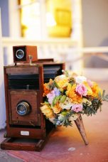 Vintage Camera Wedding Prop || Art Nouveau Wedding Inspiration