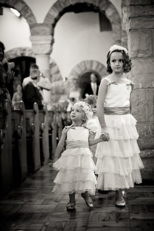 1920s Wedding Flower Girls