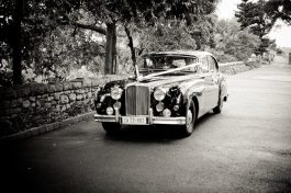 Art Deco Wedding Car