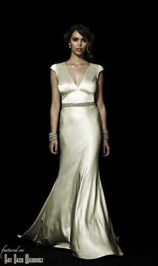Magnolia Deco Gown Johanna Johnson