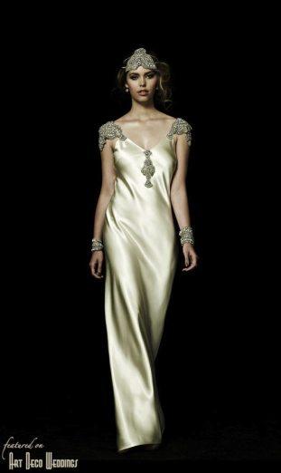 Zephyr Deco Gown Johanna Johnson