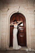 Art Deco Belted Gown || Berta