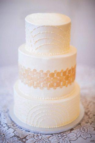Art Deco Cake Kansas City