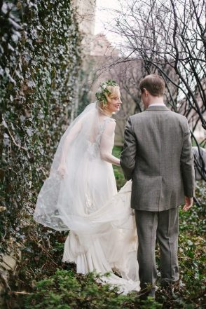 Art Deco Garden Wedding