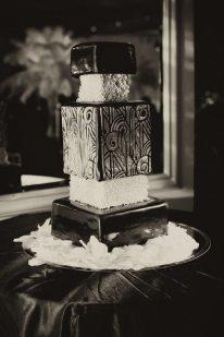 Art Deco Wedding Cake