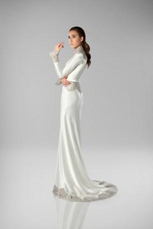 Art Deco Wedding Dress | Isabel Zapardiez