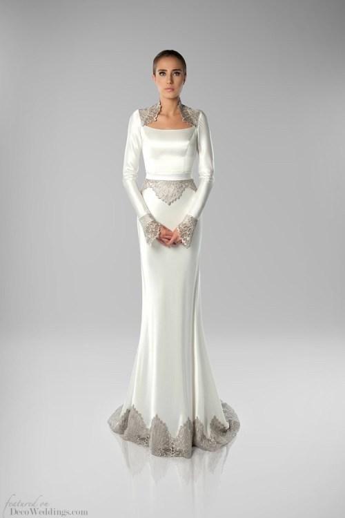 Medium Of Art Deco Wedding Dress