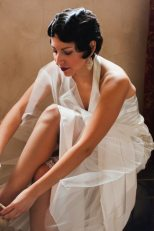 Art Deco Wedding Hair + Makeup