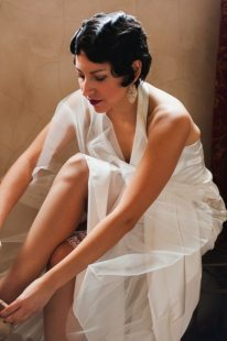 Art Deco Wedding Hair + Makeup