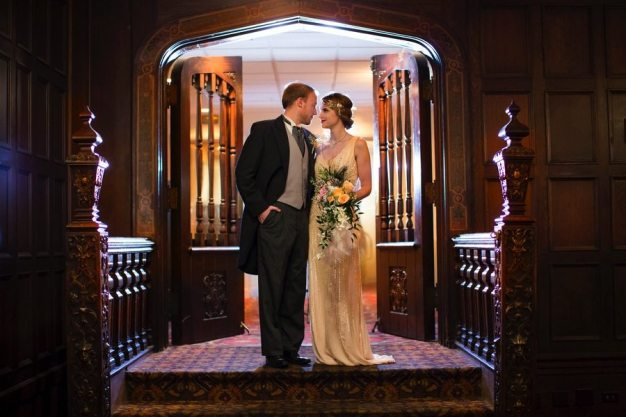 Art Deco Wedding Reception KC
