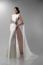 Art Nouveau Wedding Gown | Isabel Zapardiez