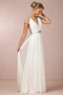 Deco Wedding Gown Tallulah BHLDN