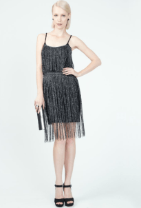 Flapper Fringe Bridesmaid Dress